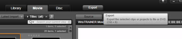 Exporting the Video to YouTube is Very Easy