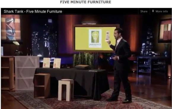Jared Joyce and the Five-Minute Furniture