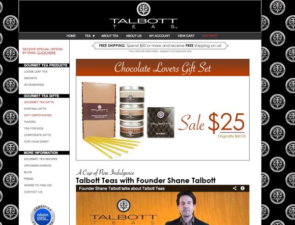Designer Teas by Talbott Teas