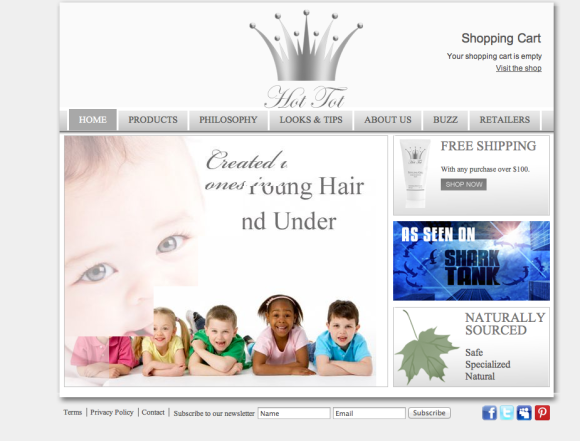 Hot Tot Child-safe Haircare