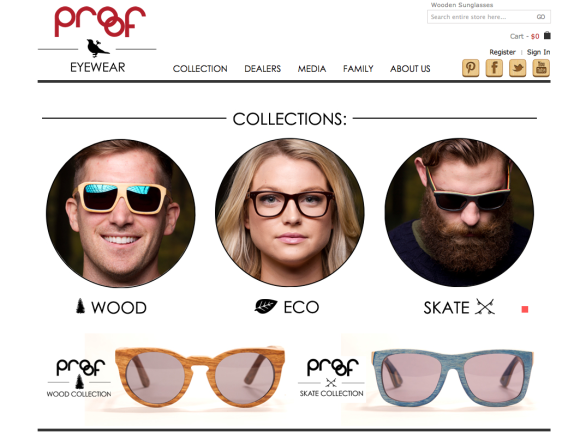 Proof Wooden Eyewear