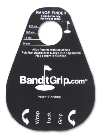 BanditGrip Golf Grip Enhancer Black